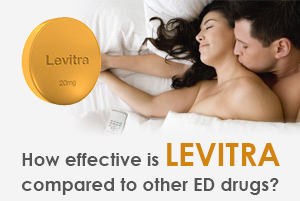 How effective is Levitra compared to other ED drugs