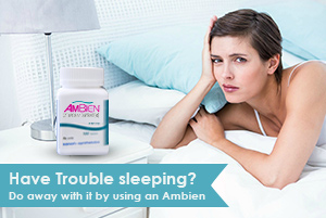 have trouble sleeping using an ambien