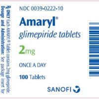 amaryl label