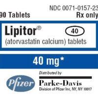 lipitor label