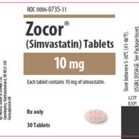 zocor label