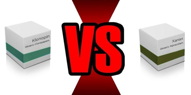 Xanax vs Klonopin