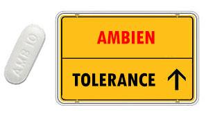 Ambien tolerance