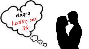 Viagra for healthy sex life