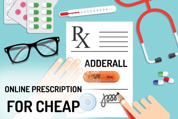 how to get a prescription for adderall online