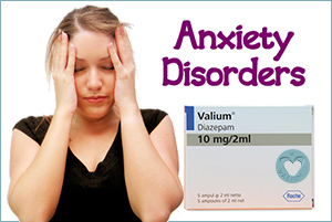 Taking valium for your anxiety disorders