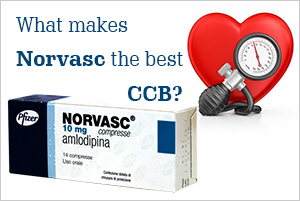 What makes Norvasc the best CCB