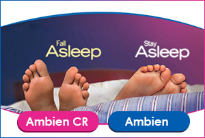 difference between ambien CR and ambien