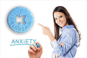 take klonopin and drive out anxiety