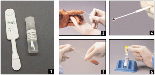 hiv tester instructions