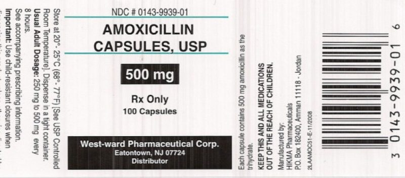 amoxil 500mg label