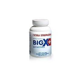 big X plus pill bottle