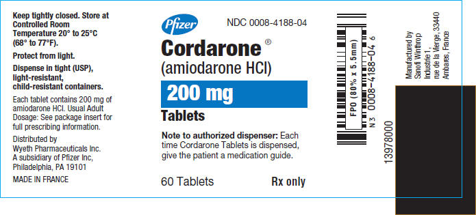 cordarone label