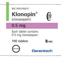 klonopin label