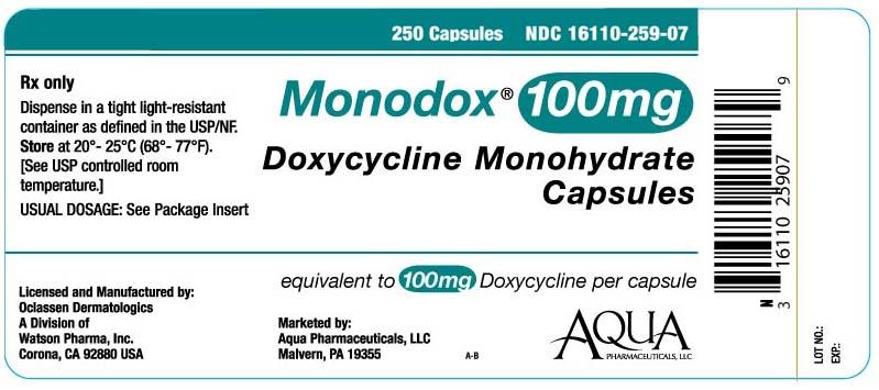 monodox label