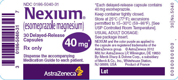 nexium pill label