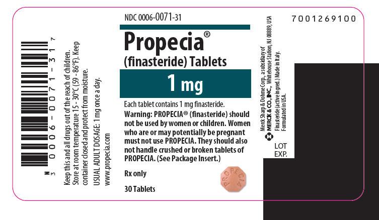 propecia label