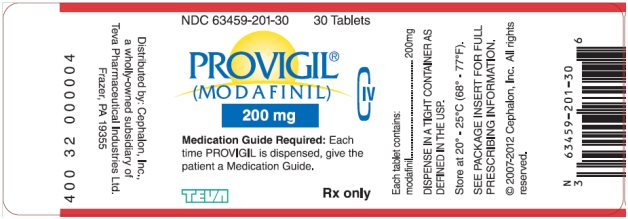 provigil label