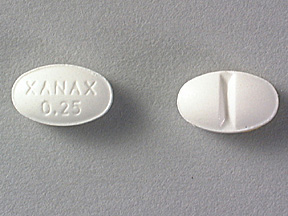 alprazolam .25mg with alcohol