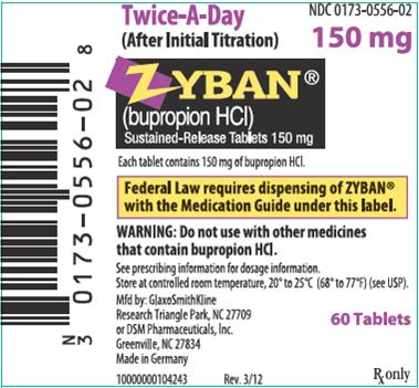 zyban pill label