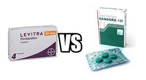 Levitra vs Kamagra