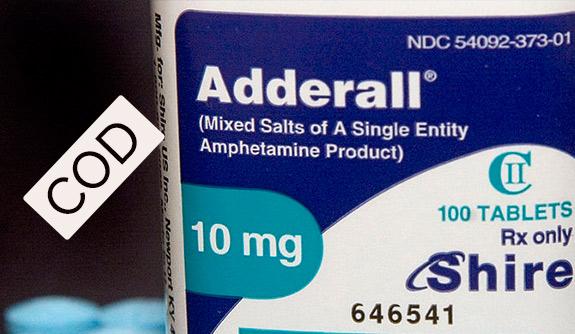 Adderall COD