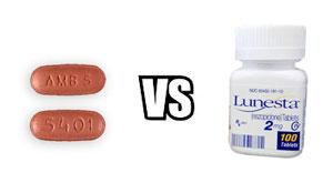 Ambien vs Lunesta