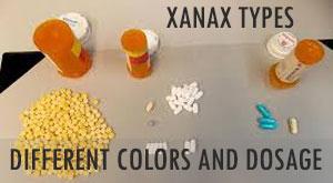 Xanax colors