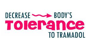 decrease tolerance to tramadol