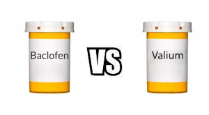 Baclofen vs. Valium