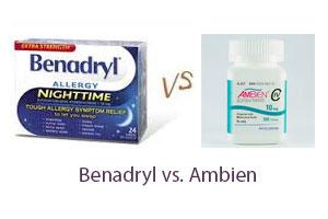 Benadryl vs Ambien