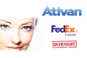 Ativan FedEx overnight