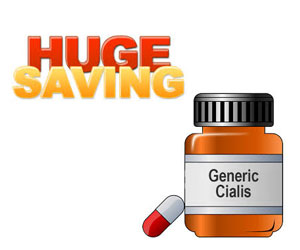 huge saving on generic Cialis