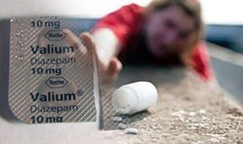 valium abuse