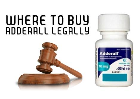 Where to buy Adderall legally